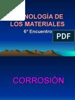 Corrosion y Tipos de Corrosion