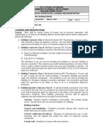 16 DBCA Code Policies