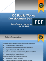 OC Public Works Development Service Meeting April 5 2016