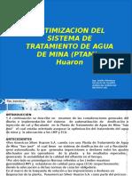 Experiencia de Exito uso eficiente del Agua Pan American Silver Mineria y Agua