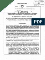 Decreto 1480 del 5 de agosto de 2014 Violencia sexual dentro del conflicto armado.pdf