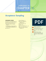 Ch10 Acceptance Sampling