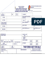NBI Form Word Format