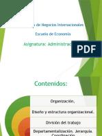 AdminisTración-Organización