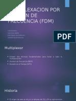 Multiplexacion Por Division de Frecuencia Fdm1