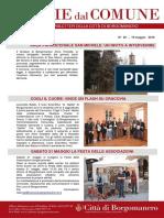 Notizie Dal Comune di Borgomanero del 19 Maggio 2016