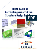 GURUCAD CATIA V5 Vorrichtungskonstruktion Structure Design SR Training De
