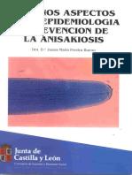 Algunos Aspectos de La Epidemiologia y Prevención de La Anisakiosis