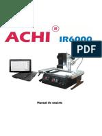 Achi-ir6000 - Manual Em Português