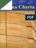 Magna Charta Febbraio 2016