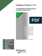 CT114-Los Dispositivos Diferenciales de Corriente Residual en BT