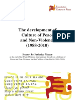 report-development of culture of peace-2010