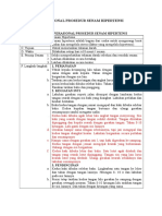 Sop Standar Operasional Prosedur Senam Hipertensi