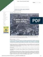 História - O Destino Dos Negros Após a Abolição