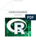 Coursera-Johns Jopkins R Programming