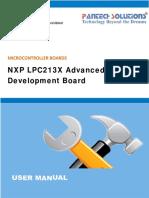 User Manual for NXP LPC213X Advanced Development Board