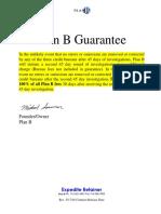 Credit Repair Plan B Expedite Agreement 05-13-16