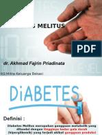 Dr.fajrin Diabetes Melitus