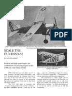Curtiss O-52 - a Free-Flight Model Airplane