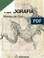 Montes de Oca - Topografia