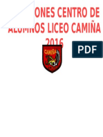 Elecciones Centro de Alumnos Liceo Camiña