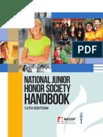 njhs handbook