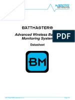 BATTMASTER Technical Datasheet Rev2