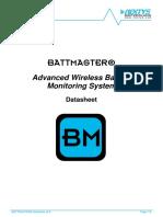 BATTMASTER Technical Datasheet v0.8