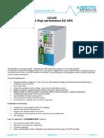 Datasheet DCU20 V4-0