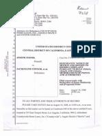 08-08-18 Zernik v Connor et al (2:08-cv-01550)  US District Court,  Los Angeles - Bank of America - Moldawsky Extortionist Motion to Dismiss-s