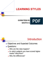 Learning Styles - Students
