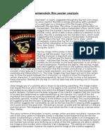 Frankenstein Film Poster Analysis