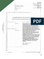 09-01-13 Samaan v Zernik (SC087400) Bank of America Moldawsky Bryan Cave LLP- Notice of Motion Sanctions Contempt v Dr Zernik