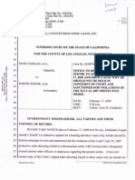 09-02-17 Bank of America-Moldawsky Extortionist Notice to Appear in Bench Trial Re Contempt-s