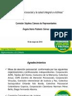 Presentación de Ángela Robledo en el debate control político atención psicosocial a víctimas del conflicto armado