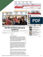 05-13-2016 Carlos Solís y Neto Robinsón Reciben Apoyo de Asociación Civil