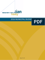 Laurentian Valley Budget 2016