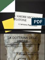 L'AMORE SECONDO PLATONE