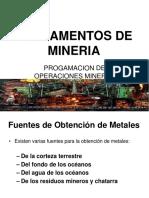 Fundamentos de Minería