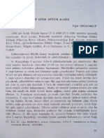 Silistreli, U. (XII.KST-I, 1991, 95-104) Köşk 1989