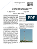 Communication Tower Stroke Current