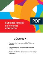 2016 Subviviendasidio de Vivienda