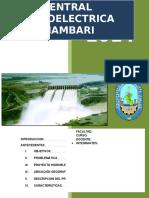 Central Hidroelectrica Inambari - Trabajo de Investigacion
