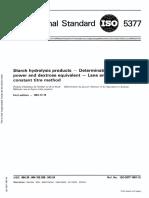 Gula Reduksi Analisa ISO 5377 1981
