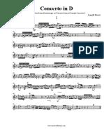 Leopold Mozart ConcertoinD - Piccolo