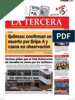 Diario La Tercera 18.05.2016