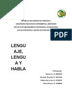 Lengua Española.
