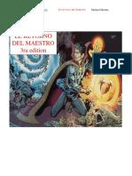El Retorno Del Maestro Edicion 3