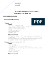 Tematica Bibliografie Licenta Vara 2016 Informatica