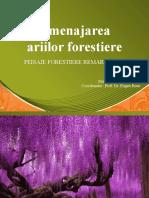Amenajarea ariilor forestiere